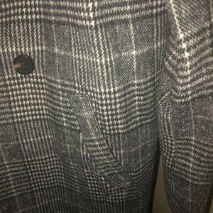 Lulu's Jackets & Coats - Lulus Long Plaid Coat